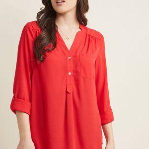 NWOT Modcloth Pam Breeze-ly Long Sleeve Tunic